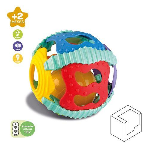 Brinquedo Interativo Bola Musical C/ Luz Didático - Zoop Toys - ZP00653