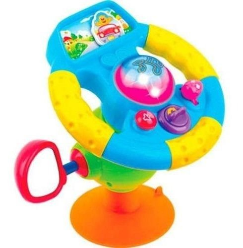 Volante Bebê Motorista Musical - Zoop Toys