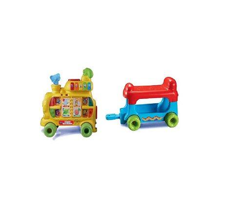 Andador Infantil Trem Alfabeto C/ Som E Luz - Yes Toys