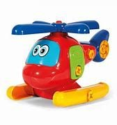 Helicóptero Colorido Didático -Poliplac