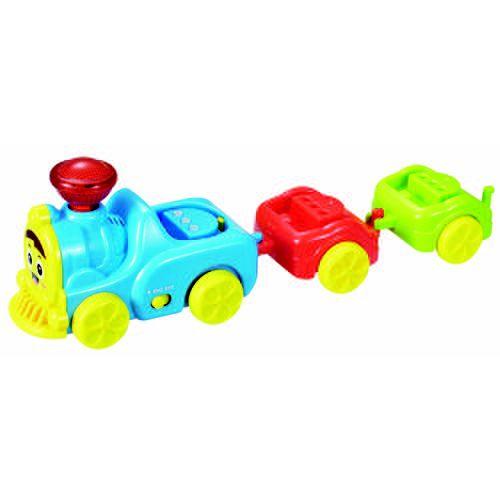 Trenzinho Didático Bilíngue Com Som E Luz - Zoop Toys