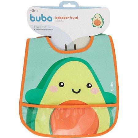 Babador com bolso Frutti - avocado buba