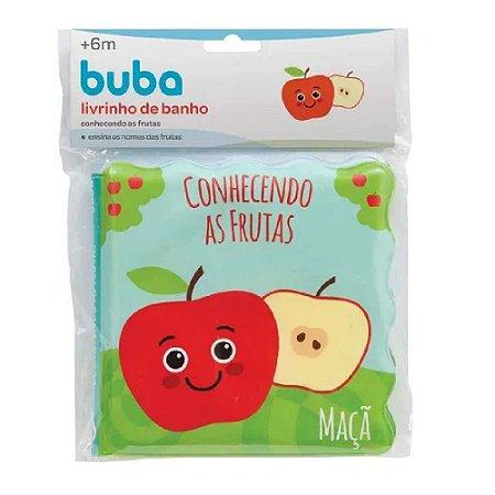 Livrinho de Banho Conhecendo as Frutas Buba