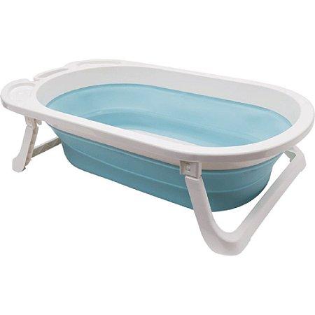 Banheira Dobrável Baby - azul buba