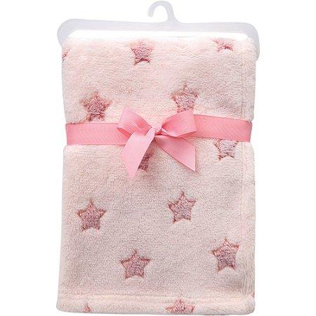 Mantinha Estrelinhas rosa - buba