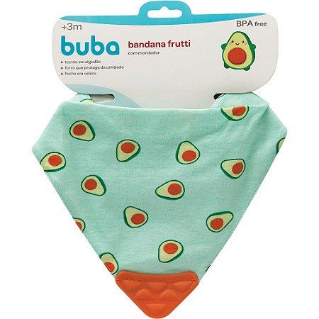 Bandana Frutti com mordedor Avocado - buba