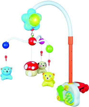 Móbile Musical com 12 Peças, Zoop Toys, Multicor