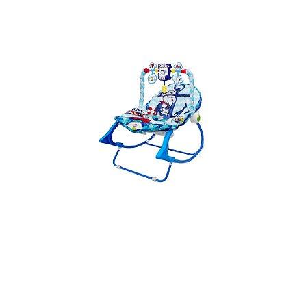 Snoopy - Cadeira de Balanço azul