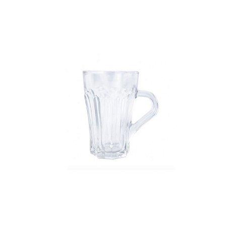 Conjunto Canecas de Vidro 6 Peças 155 ml - Wincy