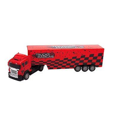 Caminhão c/ Controle Remoto Unik Toys BT2003-2VM