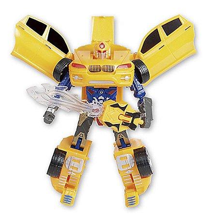 Robot Warriors Amarelo Com Luz e Som ZP00173 - Zoop Toys