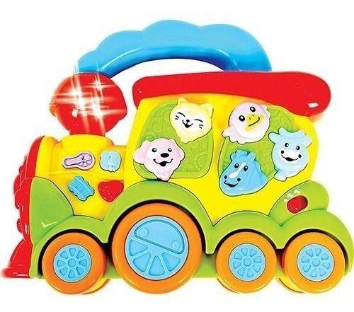 Trem Fazendinha Zoop Toys Zp00005