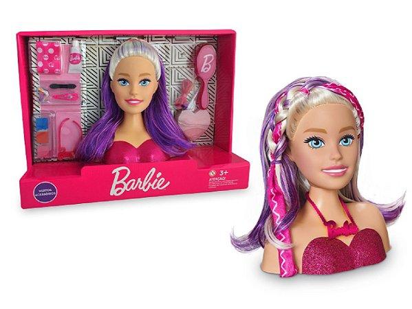 Barbie Busto Faces Maquiagens e Mechas Styling Head - Pupee