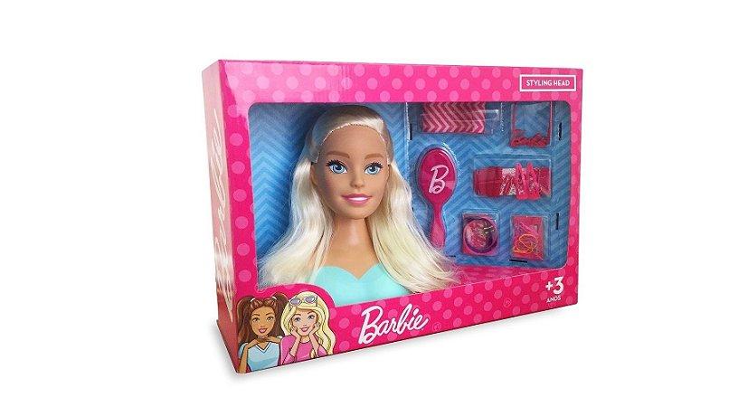 Boneca Busto da Barbie Styling Head - Pupee