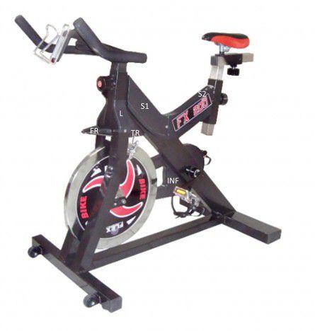 Carenagem bike spinning FLEX FX-2OO