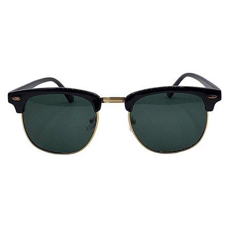 Óculos de Sol Guaraci - Preto com Dourado