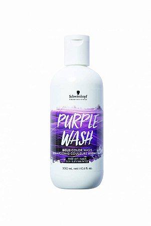 Shampoo Tonalizante Bold Color Wash Violeta Intenso 300ml Schwarzkopf Professional