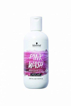 Shampoo Tonalizante Bold Color Wash Rosa Intenso 300ml Schwarzkopf Professional