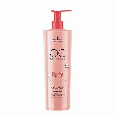 Shampoo Micellar BC Peptide Repair Rescue 500ml Schwarzkopf Professional