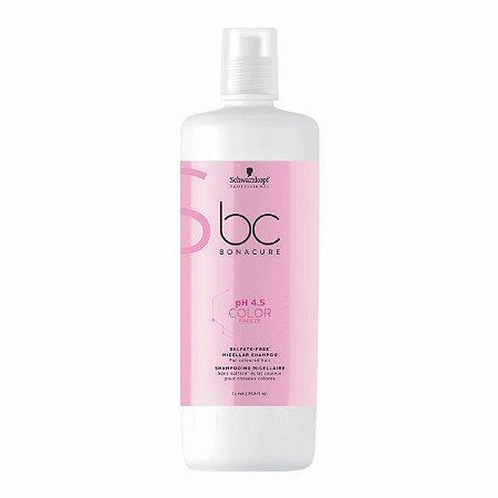 Shampoo Micellar Sem Sulfatos BC pH4.5 Color Freeze 1L Schwarzkopf Professional