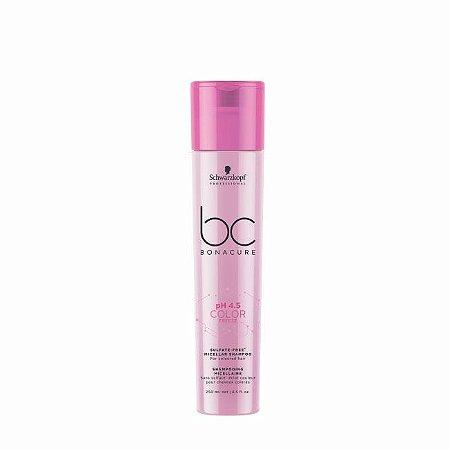 Shampoo Micellar Sem Sulfatos BC pH4.5 Color Freeze 250ml Schwarzkopf Professional