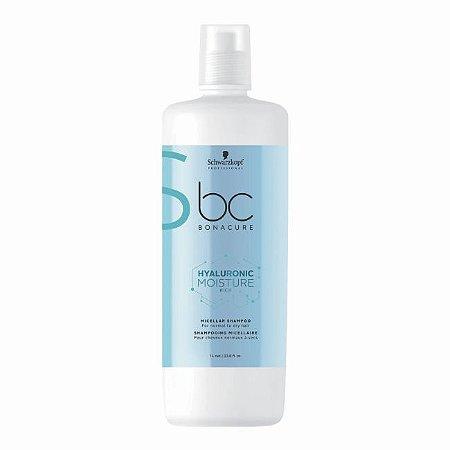 Shampoo Micellar BC Hyaluronic Moisture Kick 1L Schwarzkopf Professional
