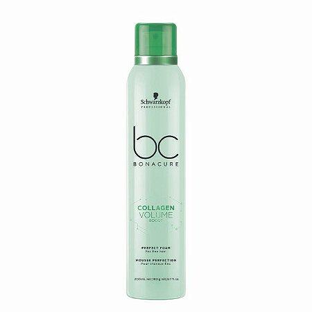 Espuma de Perfeição BC Collagen Volume Boost 200ml Schwarzkopf Professional