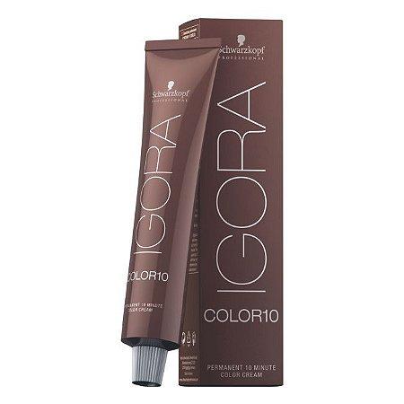 Coloração Igora Royal Color 10 6-65 Louro Escuro Marrom Dourado 60ml Schwarzkopf