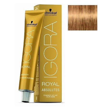 Coloração Igora Royal Absolutes 9-50 Louro Extra Claro Dourado Natural 60ml Schwarzkopf