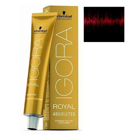 Coloração Igora Royal Absolutes 6-80 Louro Escuro Vermelho Natural 60ml Schwarzkopf