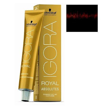 Coloração Igora Royal Absolutes 5-70 Castanho Claro Cobre Natural 60ml Schwarzkopf
