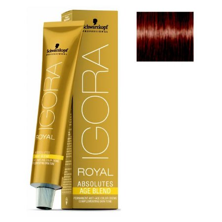 Coloração Igora Royal Absolutes Age Blend 7-560 Louro Médio Dourado Marrom 60ml Schwarzkopf