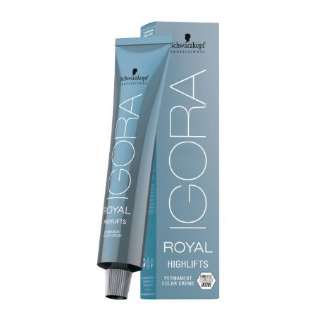 Coloração Igora Royal Highlifts 10-14 Louro Ultra Claro Cinza Bege 60ml Schwarzkopf