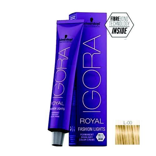 Coloração Igora Royal Fashion Ligths L-00 Natural 60ml Schwarzkopf