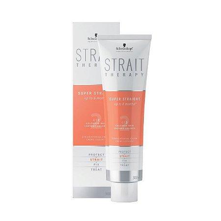 Strait Therapy Creme Alisante Força 2 Schwarzkopf Professional 300ml