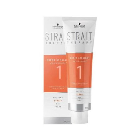 Strait Therapy Creme Alisante Força 1 Schwarzkopf Professional 300ml