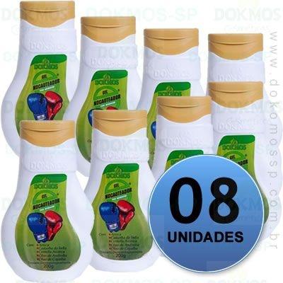 COMBO 8 UNIDADES - GEL NOCAUTEADOR DOKMOS 200G