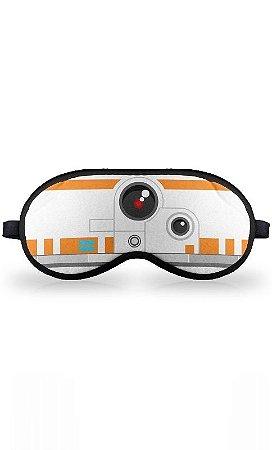 Máscara de Dormir Star Wars Geek Side Faces BB8 Presentes Criativos