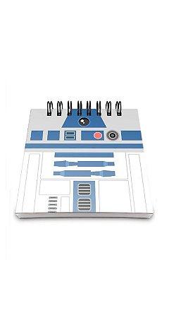 Bloco de Anotações Geek Side R2