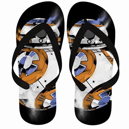 Chinelo Star Wars BB-8