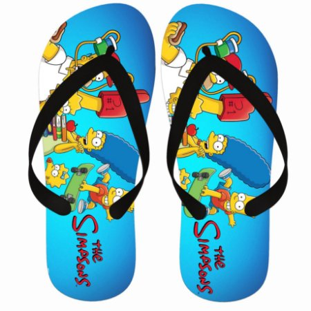 Chinelo Simpsons Family