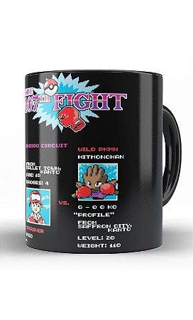 Caneca Anime Pokemon - The Fight