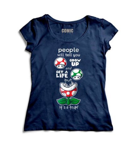 Camiseta Feminina  Get a Life