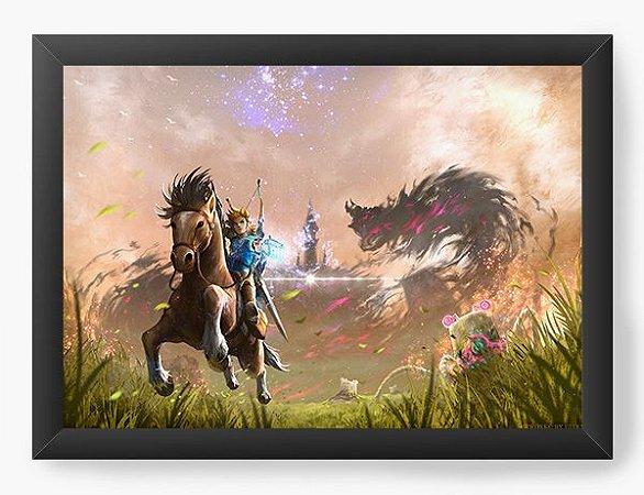 Quadro Decorativo The Legend Of Zelda: Breath Of The Wild