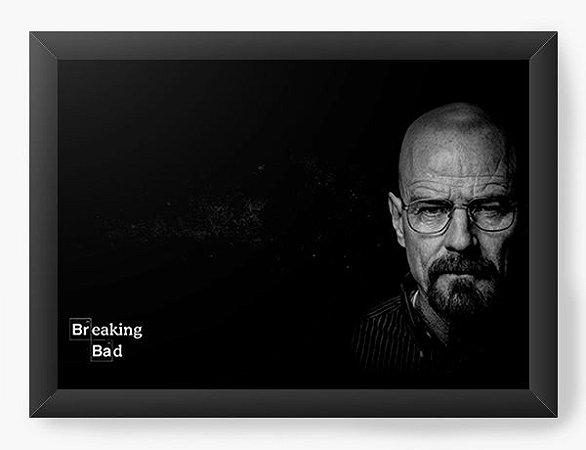 Quadro Decorativo Heisenberg - Breaking Bad Dark