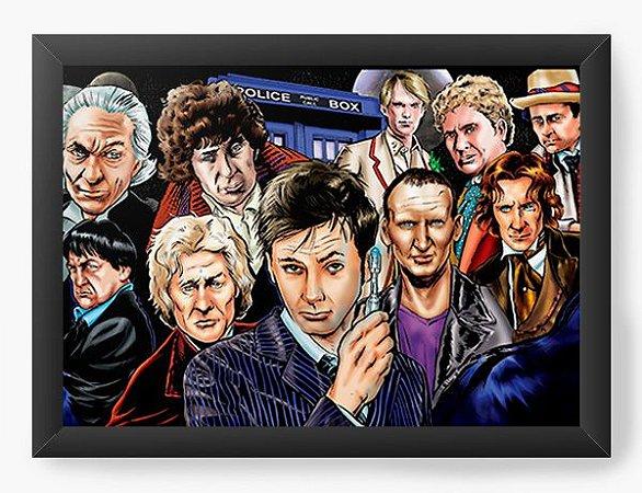 Quadro Decorativo Doctor Who - Serie