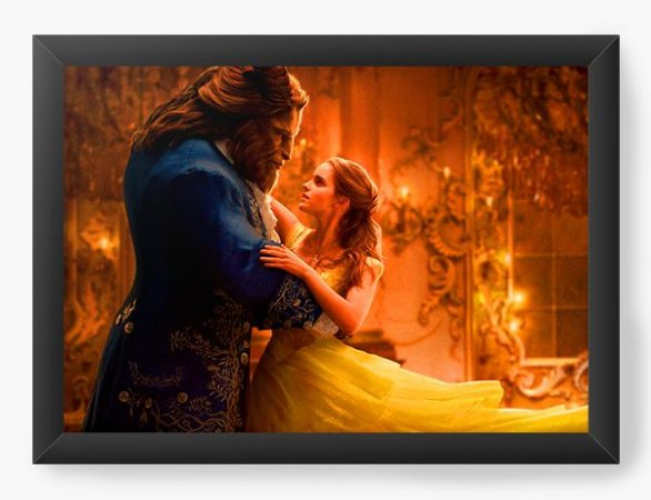 Quadro Decorativo Beauty and The Beast