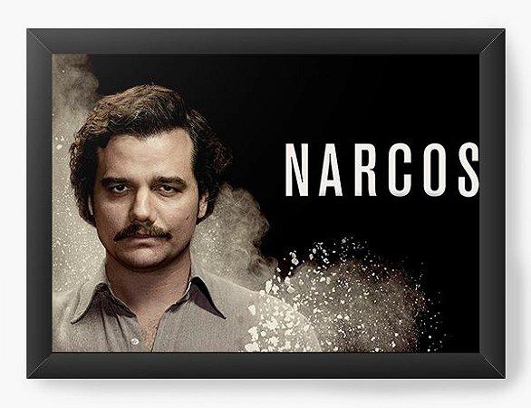 Quadro Decorativo Narcos - Serie
