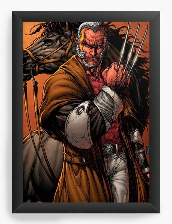 Quadro Decorativo X man Wolverine