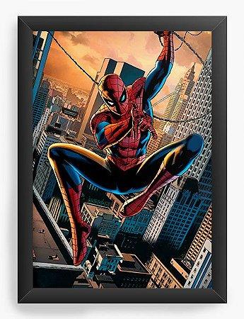 Quadro Decorativo Spider-man HQ
